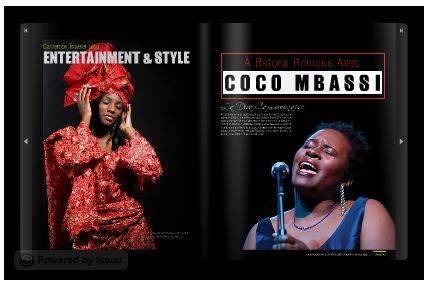 Read this interview in the Cameroon Traveler Magazine online