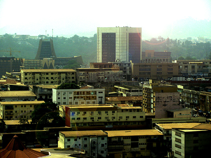 Yaoundé city centre