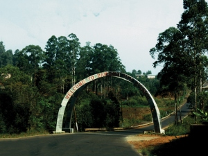 Entrance to Bamenda
