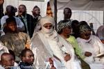 Le Sultant, Roi des Bamouns lors de la cérémonie d'ouverture du Ngouon 2012