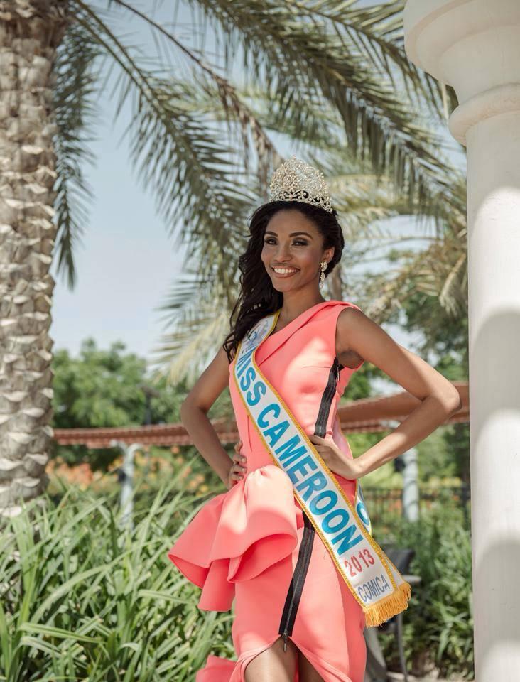 Vaérie-Ayena-Miss-Cameroon 2013