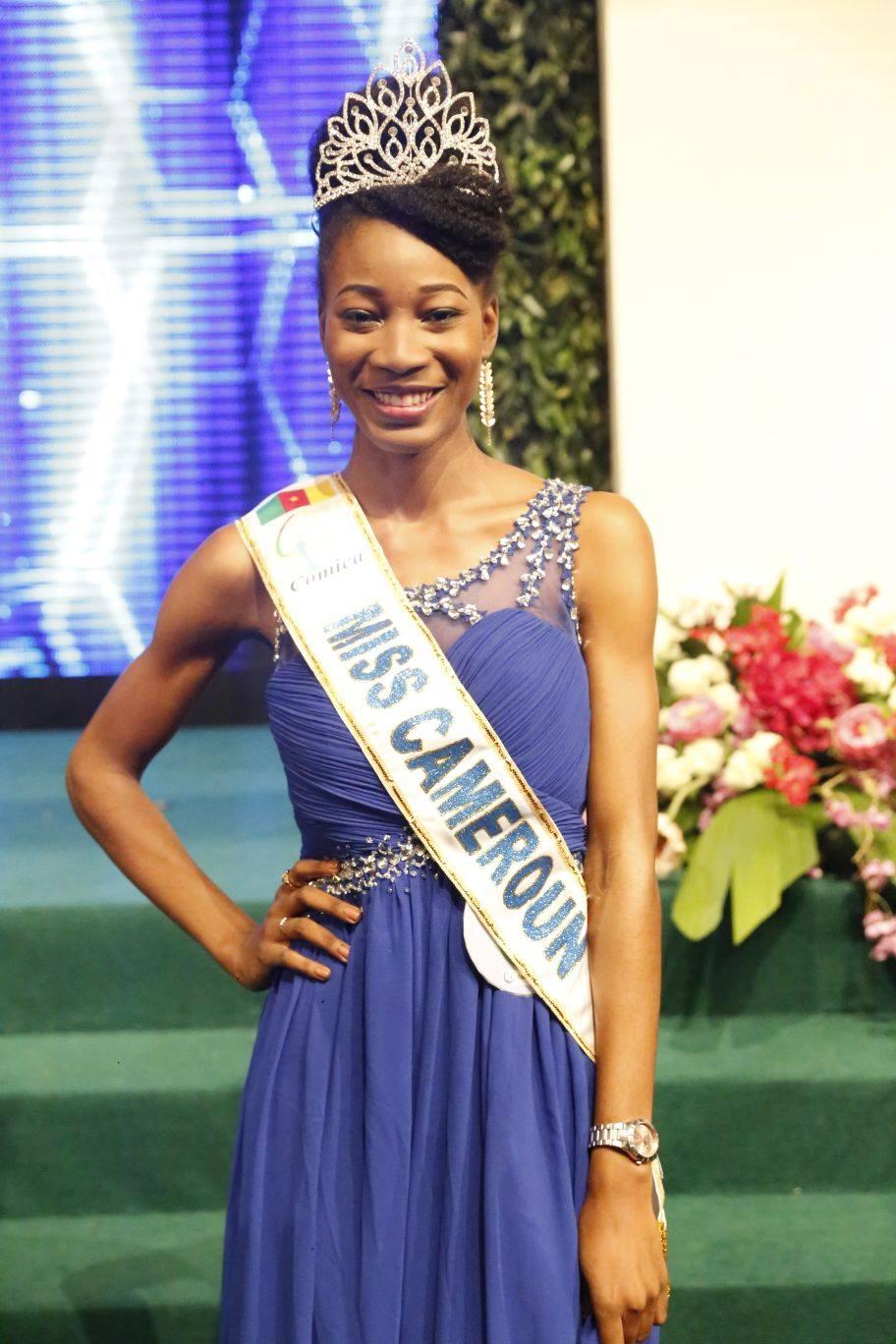 Lydie Jessica Ngoua Nseme,  Miss Cameroun2015