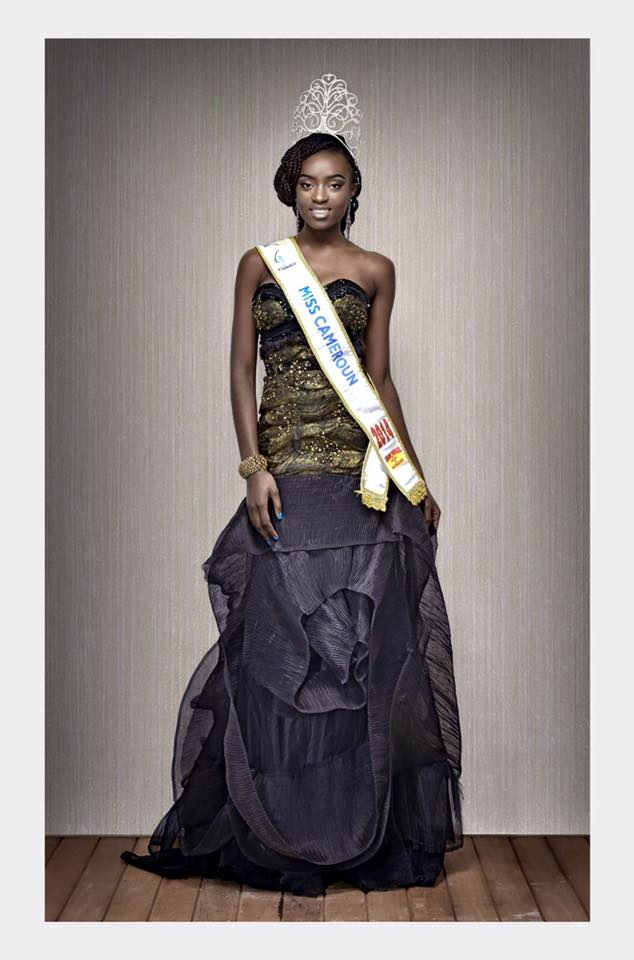 Larissa Ngangoum - Miss Cameroon 2014