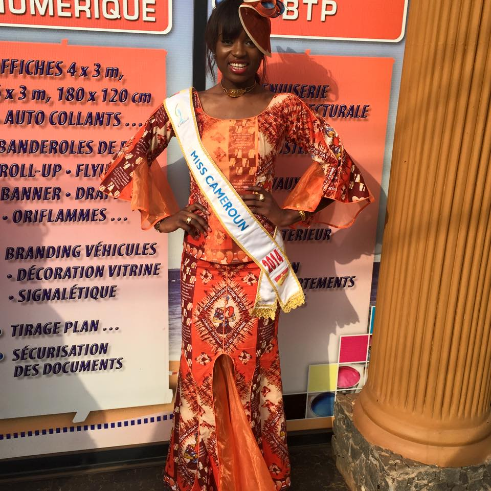 Larissa Ngangoum – Miss Cameroon2014